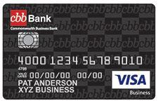 Cbb bank business credit cards visa credit card image reheart Gallery